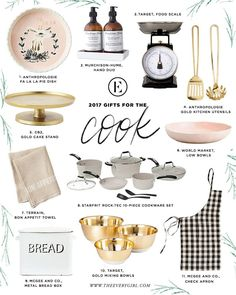 The Everygirl 2017 Holiday Gift Guide for the Cook