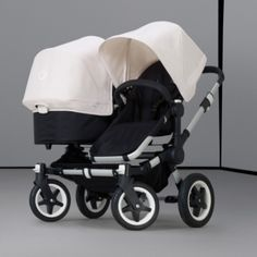 Bugaboo Donkey stroller. Best double stroller I've seen!