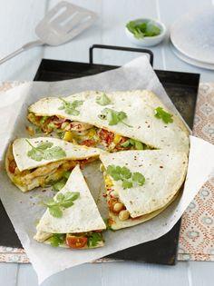 Quesadillas - mexikanische Vorspeise unsere ist laktosefrei