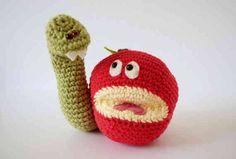10 #Autumn #Crochet Items To Make This Fall - Crochet Apples