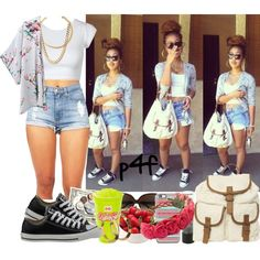 A fashion look from October 2014 featuring Chicnova Fashion, Gucci and Converse sneakers. Browse and shop related looks.