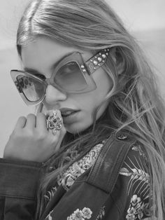"""""""Stella Maxwell for Roberto Cavalli Spring/Summer 2017 Eyewear Photographed by Morelli Brothers """""""