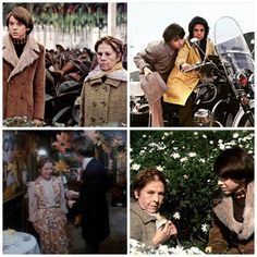 Stills from Harold and Maude, 1971.