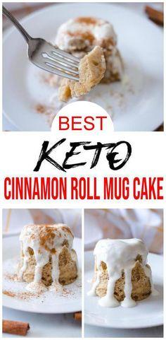 Healthy Birthday Cakes, Keto Birthday Cake, Mug Cake Healthy, Almond Flour Cakes, Almond Flour Recipes, Cake Mug, Keto Mug Cake, Keto Desserts, Mug Recipes