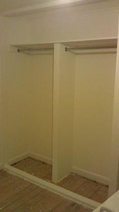 How To Build A Closet Into The Space Of An Existing Alcove