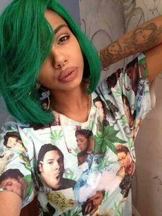Black Girl Bob Cut Hairstyle
