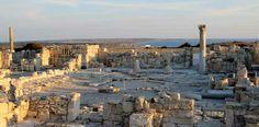 Larnaka, raunioita Kyprokselta