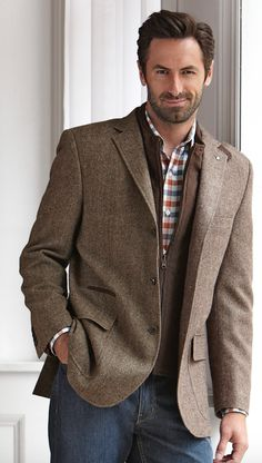 Johnston and Murphy | Menswear | Men's Fashion | Layers | Fall/Winter | Moda Masculina | Shop at DesignerClothingFans.com