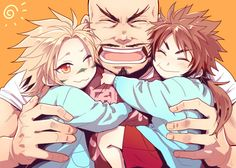 Takeda Shingen, Sanada Yukimura e Sarutobi Sasuke.