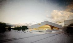 Aires Mateus & the winning project of the Islamic centre in Bordeaux, France