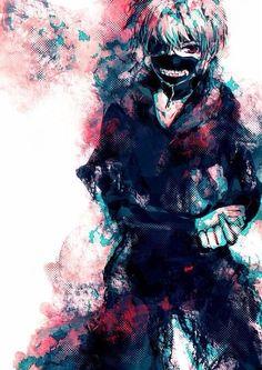 tokyo ghoul, anime, and kaneki