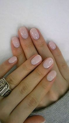Wonderful Summer Nail Colors of # Farben - Na. , Wonderful Summer Nail Colors of # Farben - Na. Wonderful Summer Nail Colors of # Farben Bride Nails, Bridal Toe Nails, Dipped Nails, Neutral Nails, Manicure E Pedicure, Manicure Ideas, Gel Manicure Designs, Mani Pedi, Opi Nails