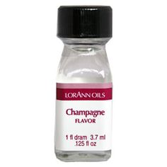 Champagne flavoring oil for hard candy making or chocolate by LorAnn