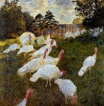 The Turkeys - Claude Monet