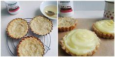 Mini tarte Dukan cu vanilie