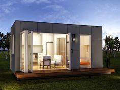 Granny Flats Studio Home | Spacious One Bed Prefab Container Home - Rennes