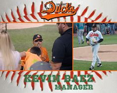 Kevin Baez manager of The Long island Ducks