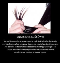 Super sposób na zniszczone końcówki! Beauty Makeup Tips, Diy Beauty, Beauty Hacks, Natural Cosmetics, Makeup Cosmetics, Cosmetic Treatments, Skin Routine, Beauty Recipe, Hair Care Tips