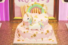 Sparkle Unicorn Baby Shower Party Baby Shower Desserts, Baby Shower Favors, Shower Party, Baby Shower Games, Baby Shower Parties, Shower Cake, Bridal Shower, Unicorn Birthday Parties, Unicorn Party