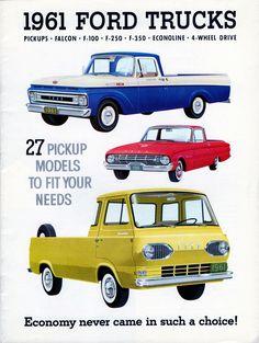 1961 Ford Trucks