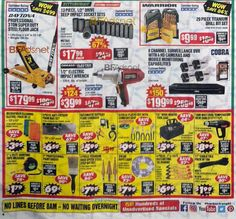 Harbor Freight Black Friday 2018 Harbor Freight Tools Black Friday Store Hours Thanksgiving Closed Black Friday 7 a. to 9 p. Harbor Freight is a nationwide retaile. Black Friday Store Hours, Black Friday Ads, Harbor Freight Tools, Cash Machine, Deal Sale, Thanksgiving, Coupons, Thanksgiving Tree, Coupon
