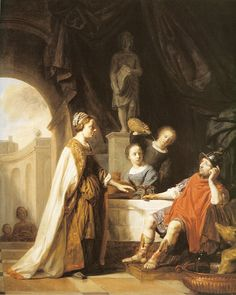 Salomon de Bray Odysseus and Circe c. 1650 110.5 x 91.5 cm Oil on canvas Private collection