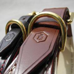 Sighthound Leather Dog Collar | English Bridle Leather | HOUNDWORTHY