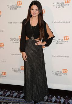 Selena Gomez #inspiredby Maxi Dress. Find yours!