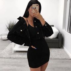 ideas womens fashion spring casual cute outfits school parties for 2019 Baddie Outfits Casual, Cute Casual Outfits, Baddie Outfits Party, Teen Party Outfits, Outfits For Parties, Cute All Black Outfits, Outfits With Black Jeans, Bad And Boujee Outfits, Baddies Outfits