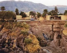 Joel Sternfeld, After a flash flood rancho mirage, California, 1979