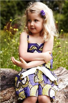 lttle girl's dress on Pinterest | Little Girl Dresses, African ...
