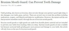 TMJ mouth guard has its advantages and negative aspects too.