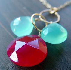 aqua + red = :)