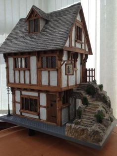 Tudor-Miniature-house-Ye-Old-Bakery-collectors-piece