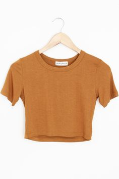 Jane Crop Tee from Frankie Phoenix. Saved to TOPS. Teenager Outfits, Outfits For Teens, Summer Outfits, Look Fashion, Fashion Outfits, Belly Shirts, Outfit Goals, Crop Tee, Cute Casual Outfits