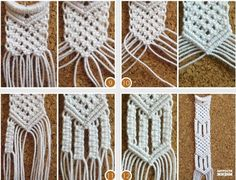 How to DIY Two Ring Closure Macrame Belt | www.FabArtDIY.com LIKE Us on Facebook ==> https://www.facebook.com/FabArtDIY
