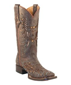 Chocolate Glitter Laser-Cut Cowboy Boots... Yes please!!!