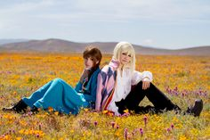 Awesome cosplay of Howl and Sophie from Miyazaki's film Howl's Moving Castle