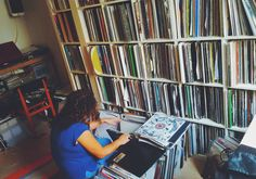 Jane Fitz's record collection