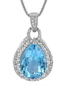 Stunning topaz and sapphires.
