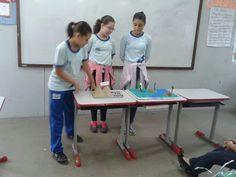 Blog do Inayá: Professora Stefani Carvalho trabalha com amquetes para ensinar sobre relevos