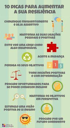Para aumentar a resiliência #oficinadepsicologia