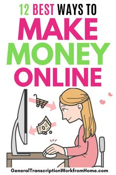 Find out the 12 BEST ways to make money online in 2021. #onlinejobs #remotejobs #makemoneyonline #workfromhome Work From Home Business, Work From Home Moms, Make Money From Home, Make Money Online, Online Business, Business Ideas, Ways To Save Money, Money Saving Tips, How To Make Money