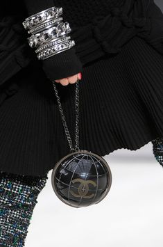 Chanel Fall 2013  ...Accessorizing is half the fun.