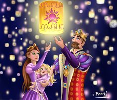 RAPUNZEL PARENTS by FERNL.deviantart.com on @deviantART