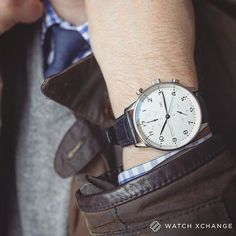 Iwc Chronograph, Audemars Piguet, Portuguese, Rolex, Watches For Men, Blues, Hands, Cook, Steel