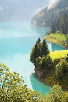 Lake Sauris, Province of Udine, Friuli-Venezia Giulia, Italy