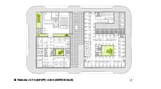 Healthcare Center and Regional Government Offices,Floor Plan