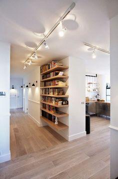 alquimia deco: Una casa con espacio diáfano - #decoracion #homedecor #muebles