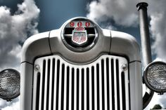 Ford 900 Series Tractor by Eugene Campbell Ford, Country Life, Fine Art Photography, 1950s, Automobile, Curves, Photographs, Chrome, Lettering